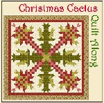Christmas Cactus Quilt Along