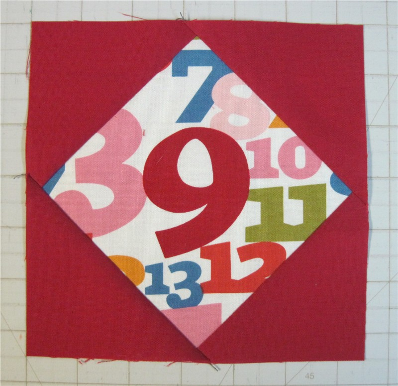 PM/GC Quilts Skill Builder Series: Part 9 – Diamond in