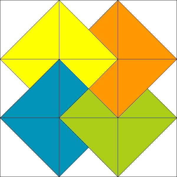 Tyss Card Trick Piecemeal Quilts