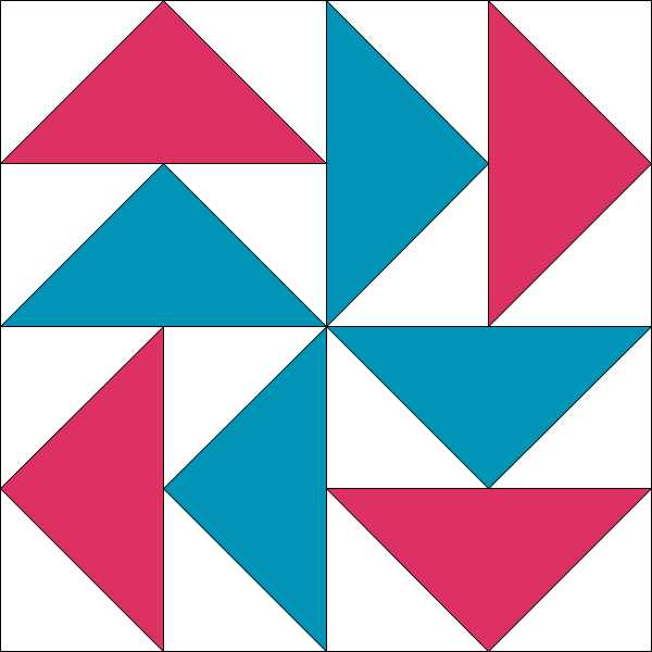 Tyss Dutchmans Puzzle Block Piecemeal Quilts