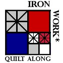 Iron Work* Quilt Along Button
