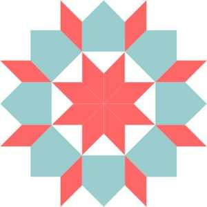 Star of Bethlehem block recolored