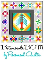 Botanical BOM by Piecemeal Quilts