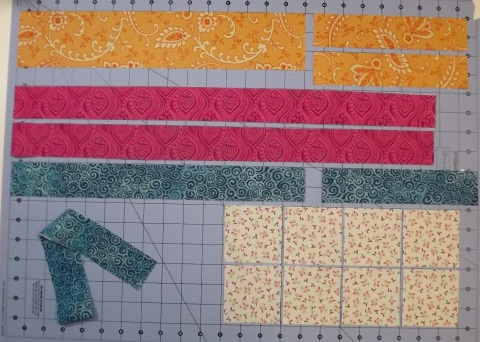 Botanicals BOM Block 2 Shasta Daisy from Piecemeal Quilts 1