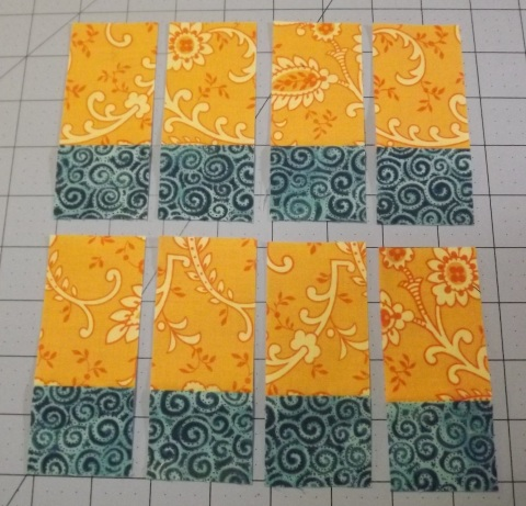 Botanicals BOM Block 2 Shasta Daisy from Piecemeal Quilts 3