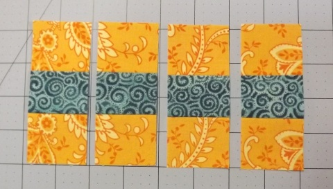 Botanicals BOM Block 2 Shasta Daisy from Piecemeal Quilts 5