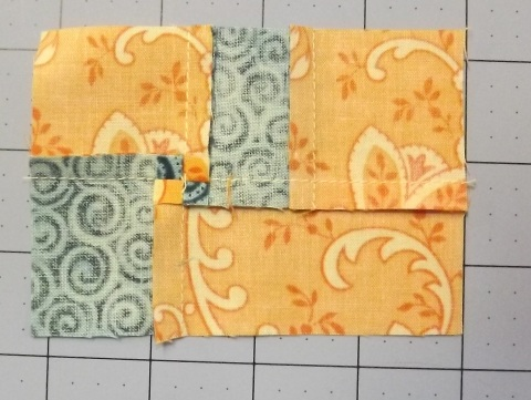 Botanicals BOM Block 2 Shasta Daisy from Piecemeal Quilts 9