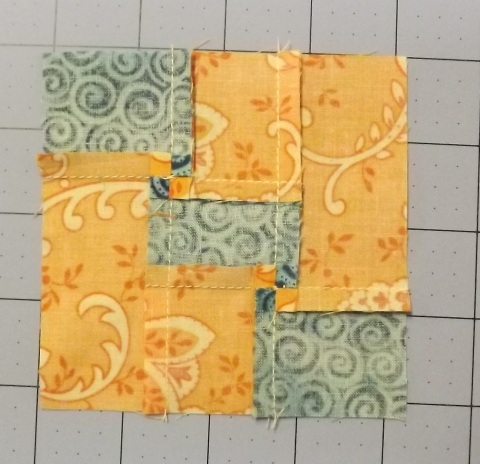 Botanicals BOM Block 2 Shasta Daisy from Piecemeal Quilts 10