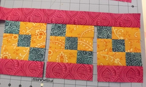 Botanicals BOM Block 2 Shasta Daisy from Piecemeal Quilts 12