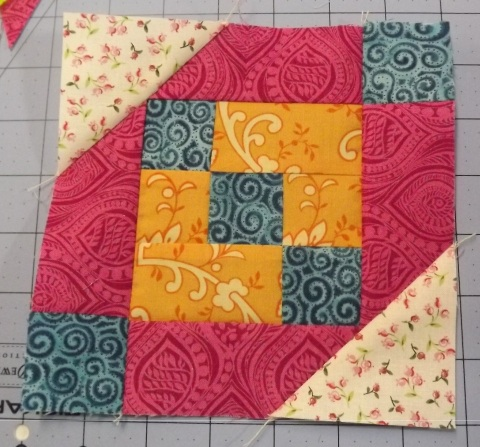 Botanicals BOM Block 2 Shasta Daisy from Piecemeal Quilts 20
