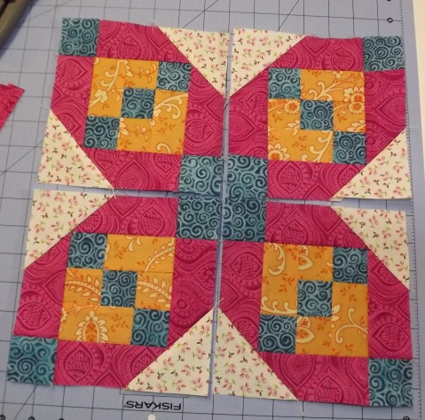 Botanicals BOM Block 2 Shasta Daisy from Piecemeal Quilts 21