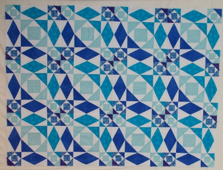 Storm at Sea by Sandi Walton at Piecemeal Quilts