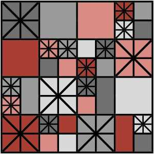 Ironwork* EQ8 design by Sandi Walton at Piecemeal Quilts
