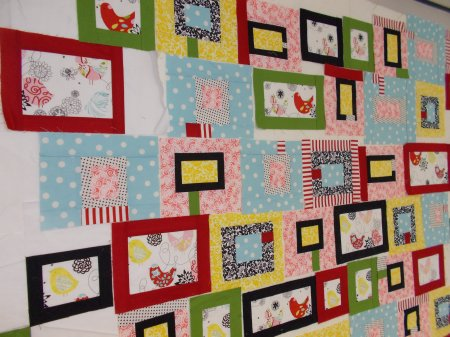 Little Birdies by Sandi Walton at Piecemeal Quilts
