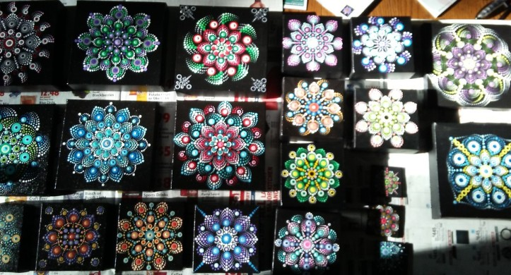 Mandalas by Sandi Walton at Piecemeal Quilts